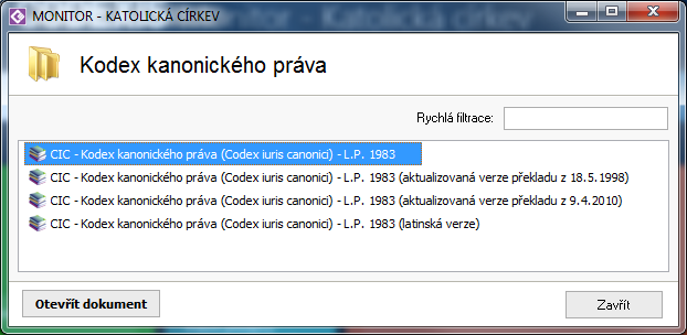 MONITOR KATOLICKA CIRKEV